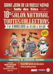 Salon national toutes collections de Saint Jean de La Ruelle