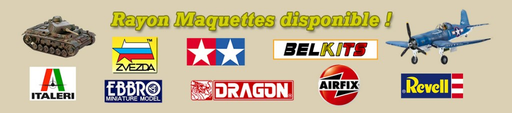 Rayon maquettes REVEL